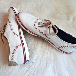 [Keds] Canvas baseball shoes.